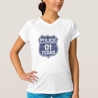 Texas Police Department Shield 01 T-Shirt