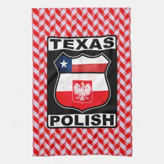 Texas Polish American Tea Towels