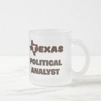 Texas Political Analyst 10 Oz Frosted Glass Coffee Mug
