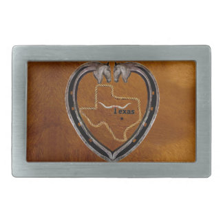 TEXAS PRIDE RECTANGULAR BELT BUCKLES