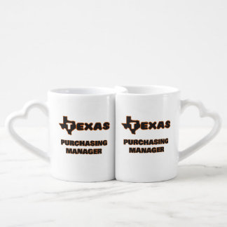 Texas Purchasing Manager Couples Mug