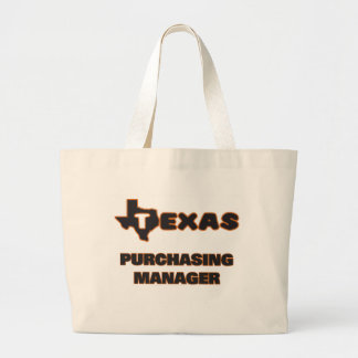 Texas Purchasing Manager Jumbo Tote Bag