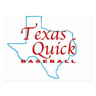 Texas  Quick Baseball.jpg Postcard