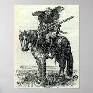 Texas Ranger Print