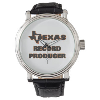 Texas Record Producer Wristwatches