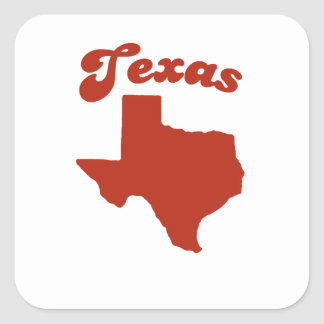TEXAS Red State Sticker