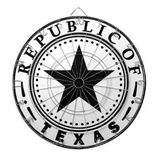 Texas (Republic of Texas Seal) Dartboard