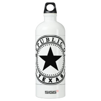Texas (Republic of Texas Seal) SIGG Traveller 1.0L Water Bottle