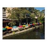 Texas, Riverwalk, dining on river's edge Postcards