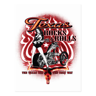 Texas Rocks Postcard