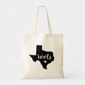 Texas Roots State Tote Bag