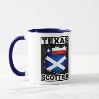 Texas Scottish American Mug