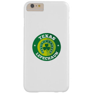 Texas Shamrock Leprechaun St. Patrick's Day Funny Barely There iPhone 6 Plus Case