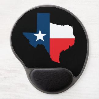 Texas Shape Flag Gel Mousepad
