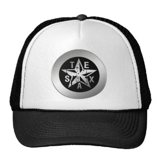 TEXAS SILVER STAR HATS