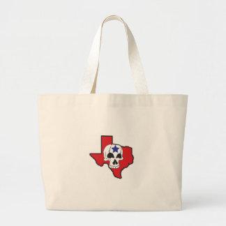 Texas Skull Jumbo Tote Bag