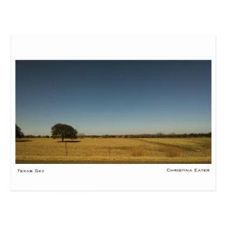 Texas Sky Postcard