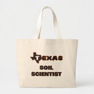 Texas Soil Scientist Jumbo Tote Bag