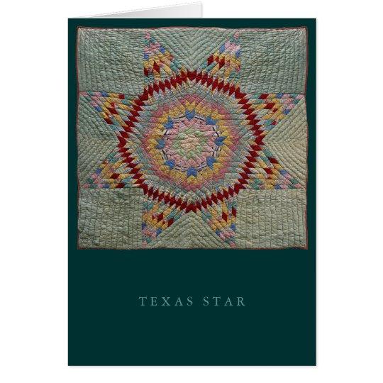 Texas Star-Card Card