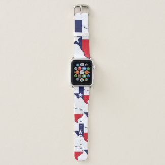Texas State Apple Watch Band