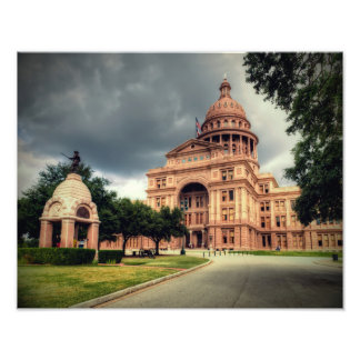 Texas State Capitol Building Photographic Print