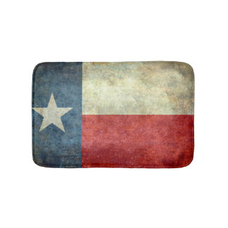 Texas State Flag Bath Mat