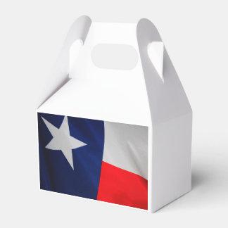 Texas State Flag Favor Box