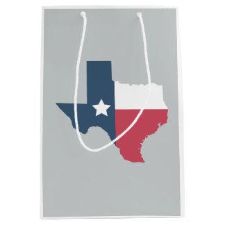 Texas State Flag Gift Bag