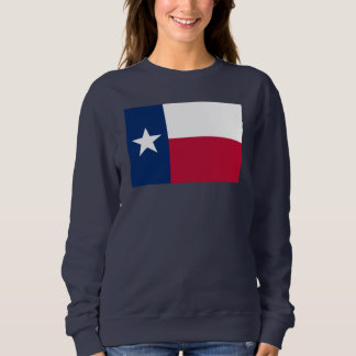 Texas state flag - high quality authentic colour sweatshirt