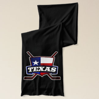 Texas State Flag Hockey Logo Scarf