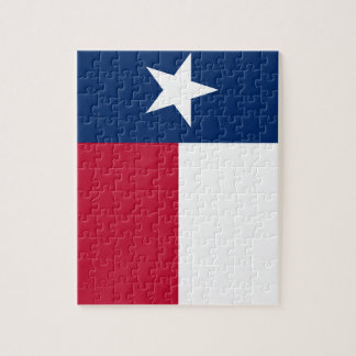 Texas State Flag Jigsaw Puzzle