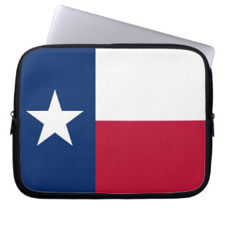 Texas State Flag Laptop Sleeve