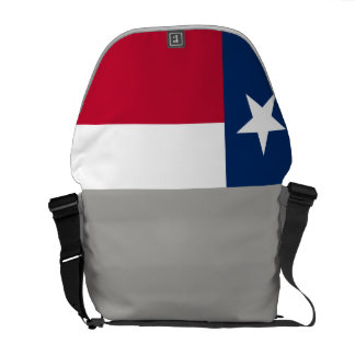 Texas State Flag Messenger Bag