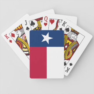 Texas State Flag Playing Cards