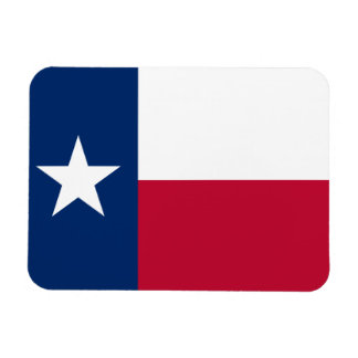 Texas State Flag Flexible Magnets