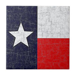 TEXAS STATE FLAG Tile