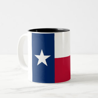 Texas State Flag Two-Tone Coffee Mug