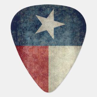 Texas state flag vintage retro style Guitar Picks Plectrum