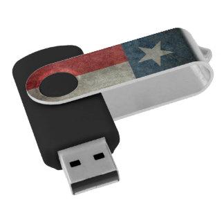 Texas state flag vintage retro USB Flash Drive