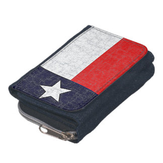 TEXAS STATE FLAG WALLETS