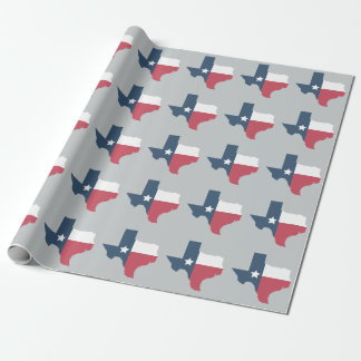 Texas State Flag Wrapping Paper. Wrapping Paper