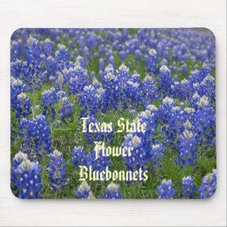 Texas State Flower Bluebonnets Mousepad