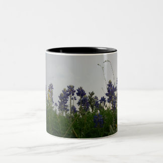 Texas State Flower Two-Tone Mug