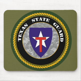 Texas State Guard mouse pad