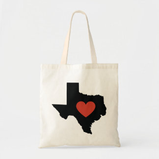 Texas State Love Book Bag or Travel Tote