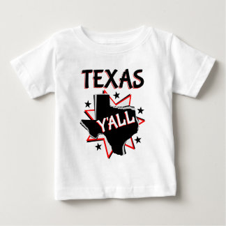 Texas State Pride Y'all Baby T-Shirt