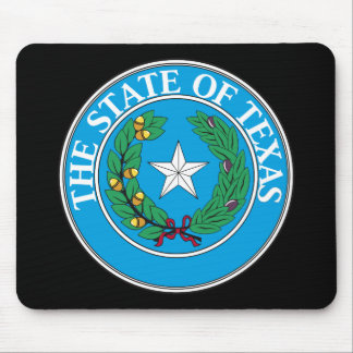 Texas State Seal Mousepad