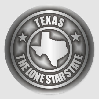 """Texas Steel"" Stickers"
