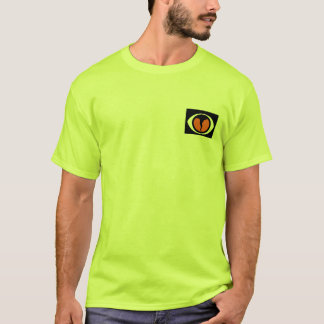 Texas Storm Chasers Tshirt in Safety Green