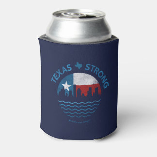 Texas Strong Hurricane Harvey Coozie